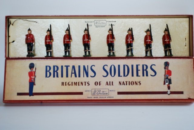Britains Set #76 Middlesex Regiment