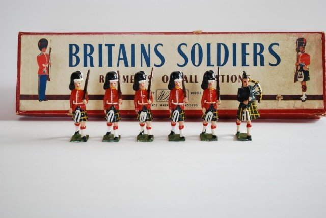 Britains Set #77 Gordon Highlanders