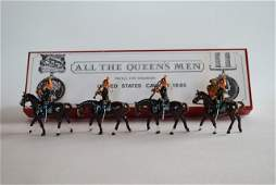 All the Queens Men US Cavalry Band