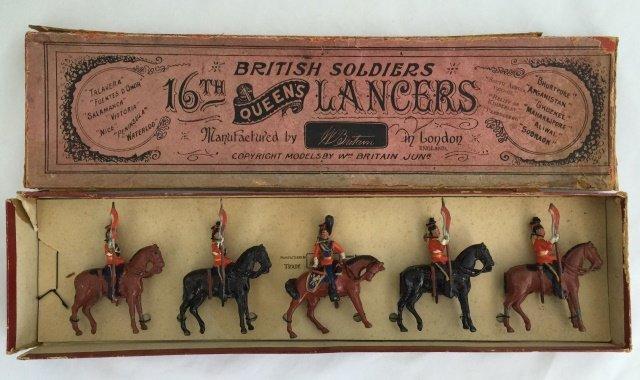 Britains Set #33 16th Queen's Lancers