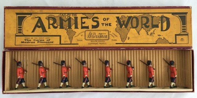 Britains Set #67 Madras Pioneers