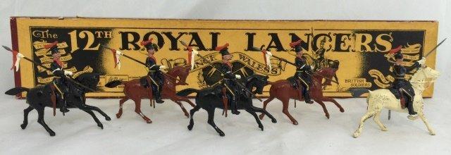 Britains Set #128 12th Royal Lancers
