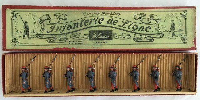 Britains Set #141 Infanterie of the Ligne