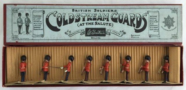 Britains Set #205 Coldstream Guards at Present