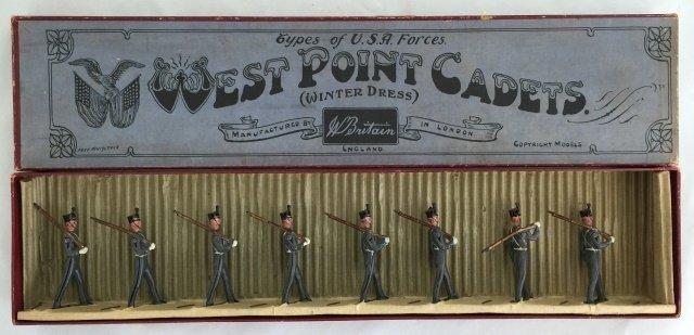 Britains Set #226 West Point Cadets Winter Dress