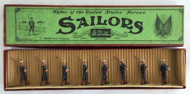 Britains Set #230 US Sailors in Blue