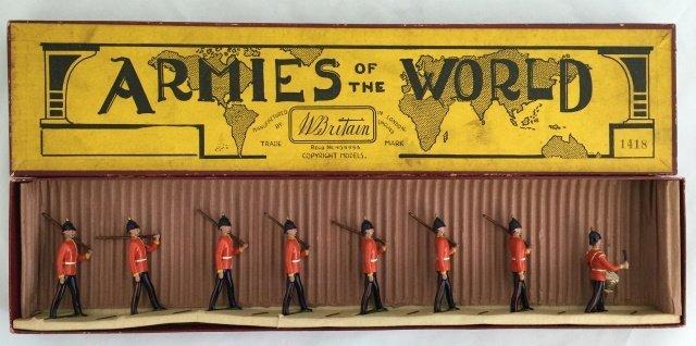 Britains Set #1418 Middlesex Regiment