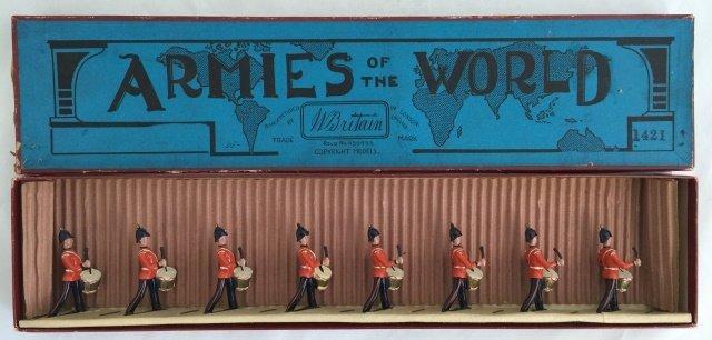 Britains Set #1421 Line Regiment Drummers