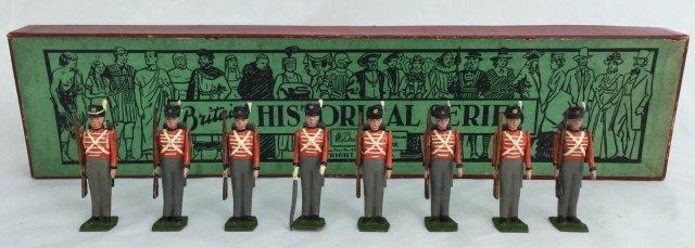 Britains Set #1518 Waterloo Line Infantry