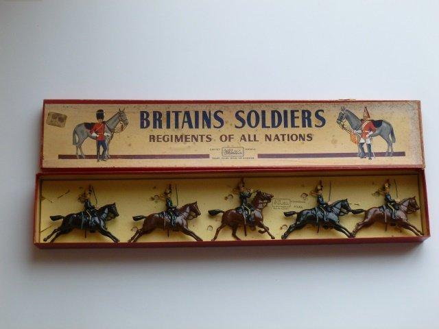 Britains Set #8  4th Hussars