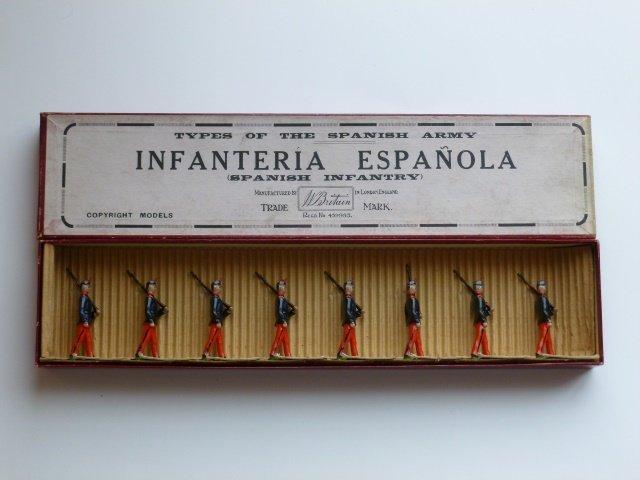 Britains Set #92 Spanish Infantry