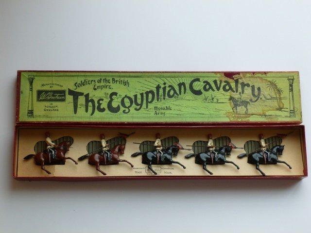 Britains Set #115 Egyptian Cavalry