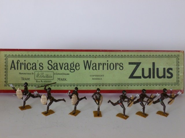 Britains Set #147 Zulus