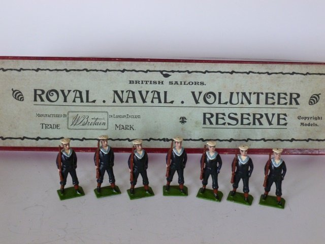 Britains from Set #151 Royal Naval Reserve