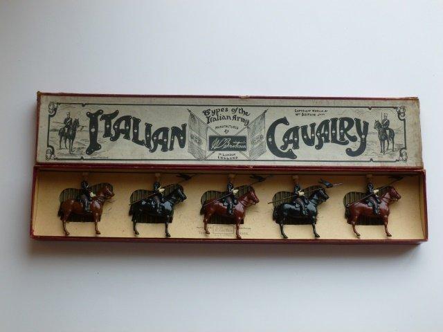 Britains Set #165 Italian Cavalry