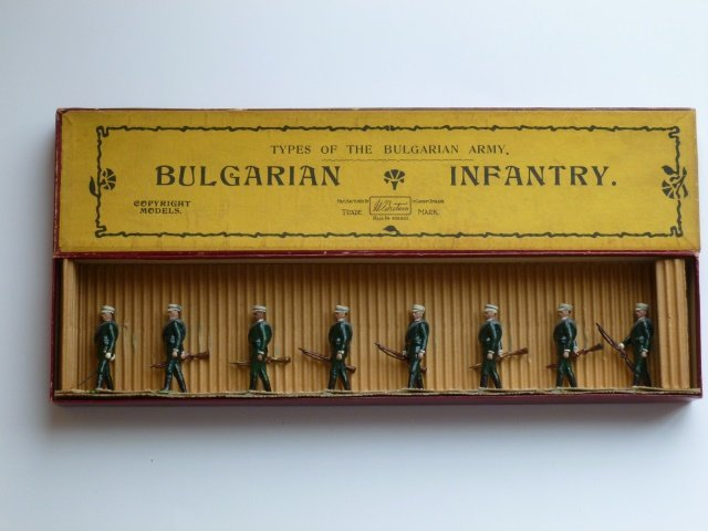 Britains Set #172 Bulgarian Infantry