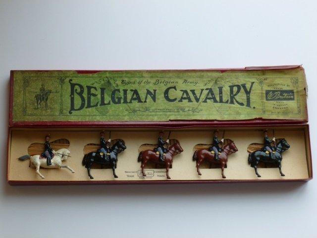 Britains Set #190 Belgian Cavalry