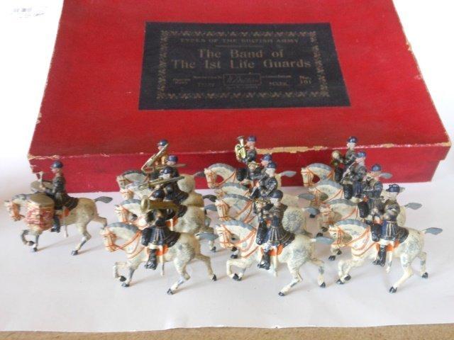 Britains Set #101 Life Guards Band