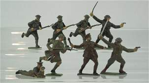Britains from Set 1613 Assorted Khaki