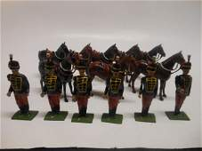 Britains from set 182 Eleventh Hussars
