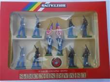 Britains set 7303 US Marine Colour Party