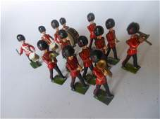 Britains from set 37 Coldstream Guards Band