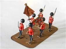 Clyde Model Dockyard Scots Guards Colour Party
