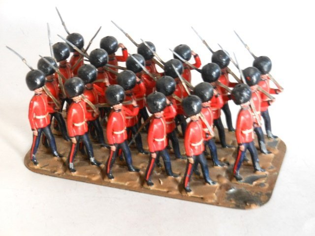 Clyde Model Dockyard Scots Guards Marching