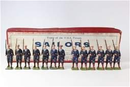 Wm Britains US Sailors