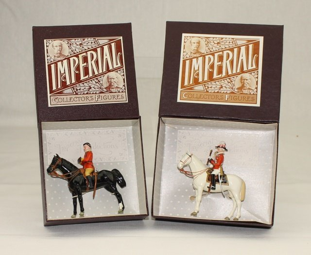 Imperial Sets #18 and #19 Mounted Personalities