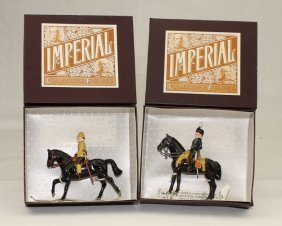 Imperial Sets #26 And #27 Mounted Personalities
