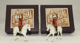 Imperial Sets #38a And 38b Mounted Zulu Chiefs