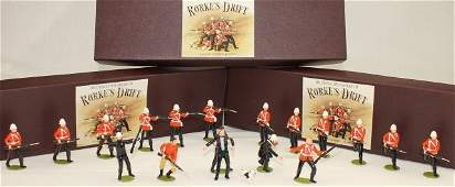 Imperial Sets 41 3 Boxes Rorkes Drift