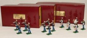 Britains Sets #17856 And 17857 Usmc Musicians