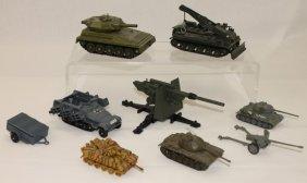 Dinky Corgi Toys Die Cast Tank Lot