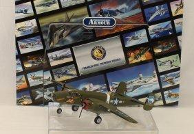 Franklin Mint Airplane B25 Mitchell Bomber