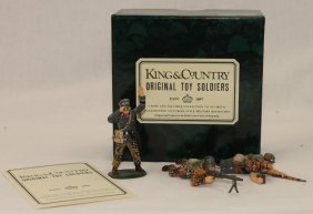 King And Country Wwii Wss1 Ss Assault Team