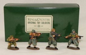King And Country Wwii Ws17 Ss Panzer Grenadiers
