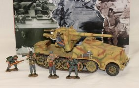 King And Country Wwii Ws103 Self-propelled Gun