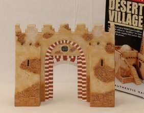 King And Country Sp031 Desert Village Gate