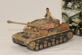 King And Country Wwii Ak23a Africa Corps Panzer