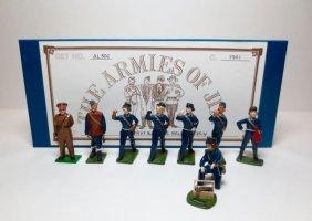 The Armies Of Jim Set #al302 Mixed Raf Barrage