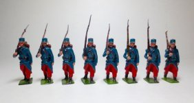 Britains Set #141 French Infanterie Of The Ligne