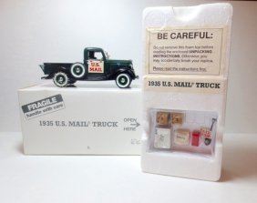 Danbury Mint Model #104 1935 Ford Mail