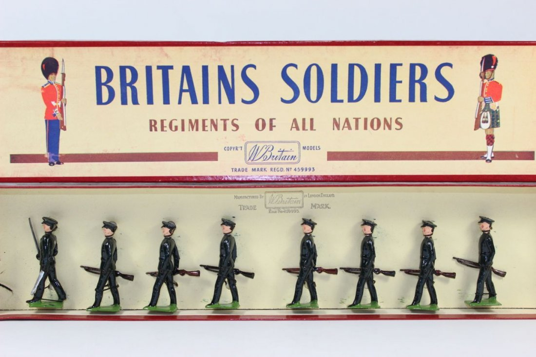 Britains Set #2091 Rifle Brigade
