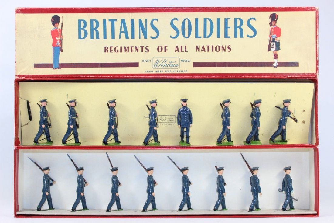 Britains Set #2044 and #2073 US Air Corps 1949