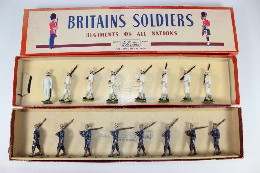 Britians Set #230 and #1253 USA Sailors and Navy