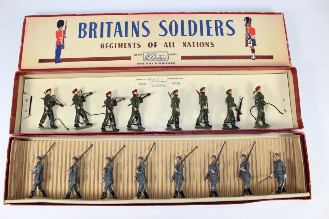 Britains Set #432 and #2010 German and Airborne