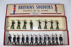 Britains Set #2030 And #2031 Australian Infantry