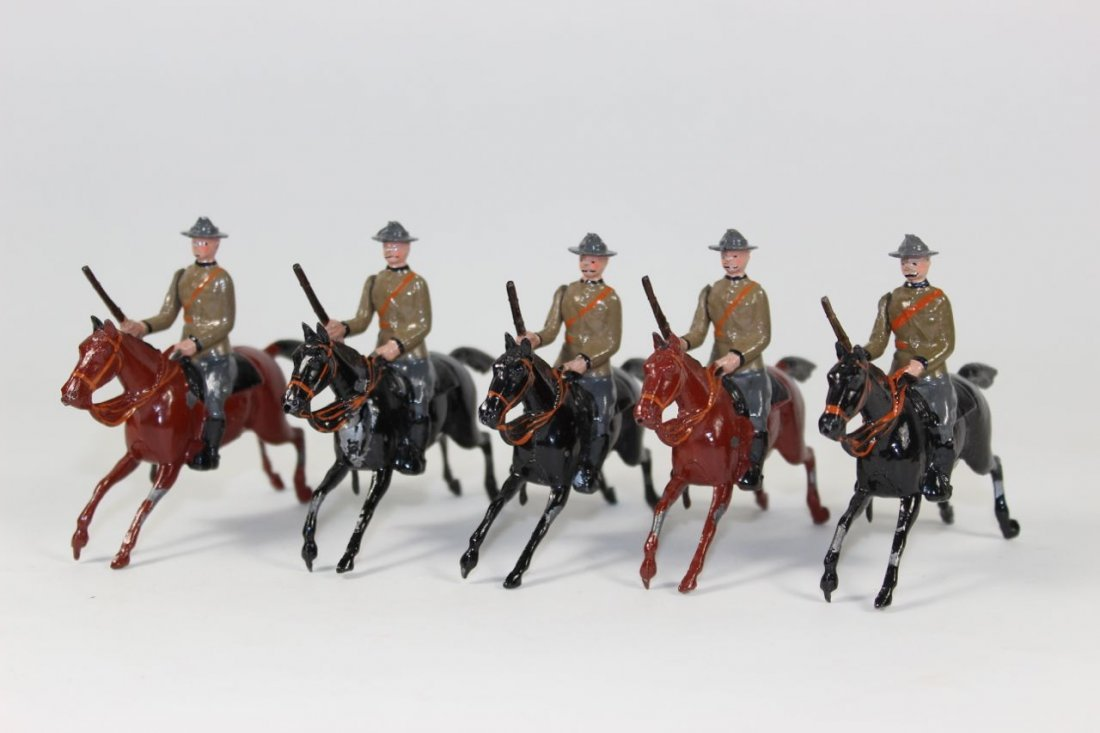 Britains Set #38 South African Mounted